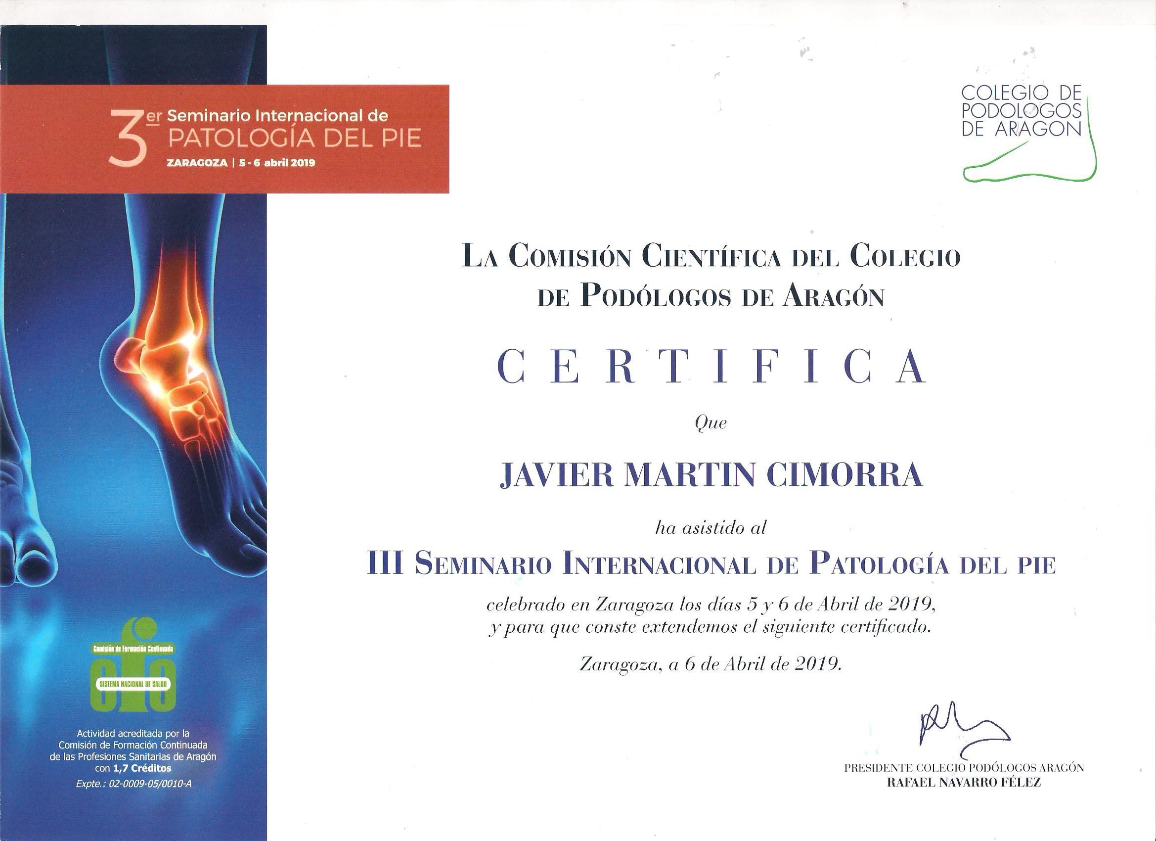 Podólogo en Zaragoza