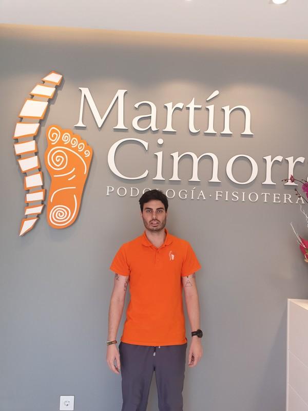 Víctor Martín fisio en Zaragoza
